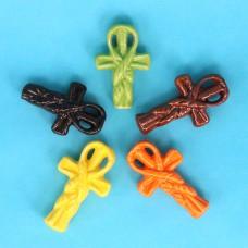 AKN016 Аромакулон керамический со шнурком Ключ жизни, цвет в ассорт.