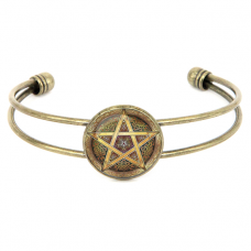 ALB045 Браслет - талисман Кельтская пентаграмма