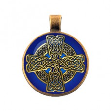 """ALE051 Амулет """"Бронзовая коллекция"""" Кельтский крест"""