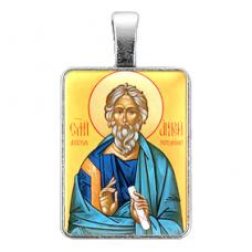 ALE326 Нательная иконка Святой апостол Андрей Первозванный