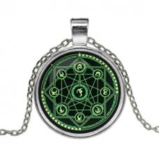 ALK131 Кулон с цепочкой Магическая печать