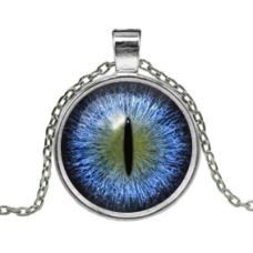 ALK156 Кулон с цепочкой Глаз