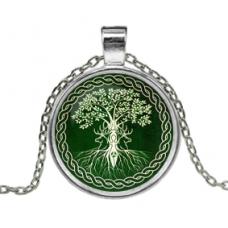 ALK161 Кулон с цепочкой Дерево жизни