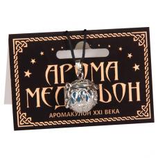 AM058-S Аромамедальон открывающийся 2см цвет серебр.