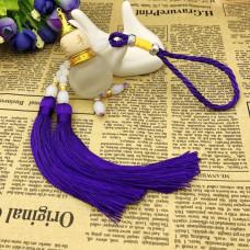 AR001-05 Подвеска - ароматизатор Тыква-горлянка, цвет фиолетовый