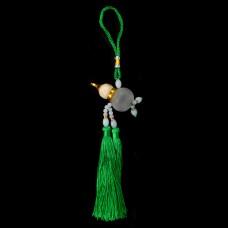 AR001-07 Подвеска - ароматизатор Тыква-горлянка, цвет зелёный