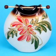 ARL018 Аромалампа Подвесная 1,5х1,5х5,2см, керамика, подвесная чашка, ручная роспись в ассорт.
