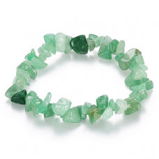 BJBS-017 Браслет из натурального камня Зелёный авантюрин