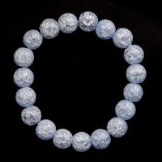 BJBS-098-04 Браслет Сахарный кварц 10мм, цвет сиреневый