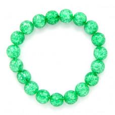 BJBS-098-06 Браслет Сахарный кварц 10мм, цвет зеленый