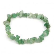 BJBS-149 Браслет из натурального камня зелёный авантюрин