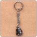 BK004 Брелок с натуральным камнем Обсидиан