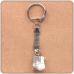 BK011 Брелок с натуральным камнем Кахолонг