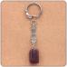 BK014 Брелок с натуральным камнем Аметист