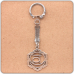 BK028 Брелок Свадхистхана чакра, металл