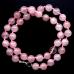 BUS003-10 Бусы розовый кварц d.10мм, L.48см