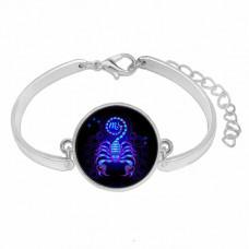BS263-11 Металлический браслет Знаки Зодиака - Скорпион