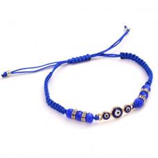 BS301-1 Синий браслет От сглаза