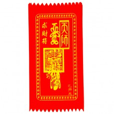 BUD002-06 Буддийский амулет - свиток Заговор на деньги 10х20см, ткань