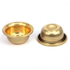 BUD005-02 Латунная чаша для воды 5,2х2,1см