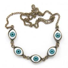 BUS032 Цепочка - ожерелье от сглаза