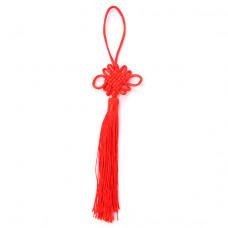 FEP018-05 Подвеска Фэн-Шуй Узел 21см, цвет красный