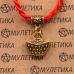 KBV2-037 Шелковая красная нить На богатство (слиток), цвет золот.