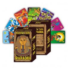 KG11027 Карты гадальные подарочные VIP Таро Фараона 78 карт 80х114мм