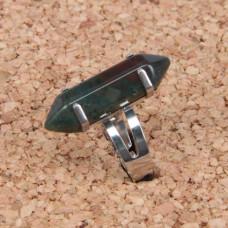 KL017-10 Кольцо с натуральным камнем Яшма