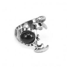 KL029-8 Кольцо Скорпион, размер 8 (18,5мм), цвет серебр.