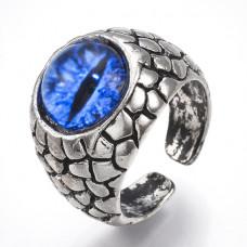 KL061 Кольцо Глаз дракона 19мм, открытое