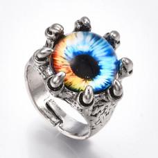 KL062 Кольцо Глаз дракона, безразмерное