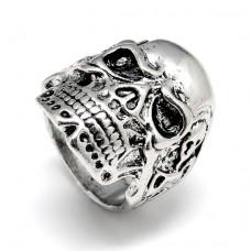 KL066 Кольцо Череп 21мм (размер11)