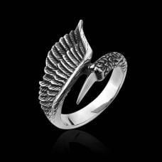 KL086 Кольцо Ангелы и демоны, открытое