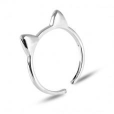 KL106 Кольцо Ушки, безразмерное