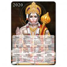 MIK008 Магнитный календарь Хануман 20х14см, винил