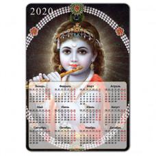 MIK011 Магнитный календарь Кришна 20х14см, винил