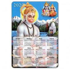 MIK012 Магнитный календарь Хануман 20х14см, винил