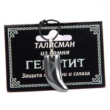MK005 Талисман из камня Гематит со шнурком