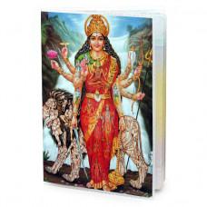 MOB013 Обложка для паспорта Дурга, ПВХ