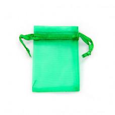 MS011-03 Маленький мешочек из органзы 5х7см, цвет зелёный