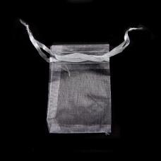 MS011-12 Маленький мешочек из органзы 5х7см, цвет серый
