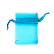 MS011-13 Маленький мешочек из органзы 5х7см, цвет бирюзовый