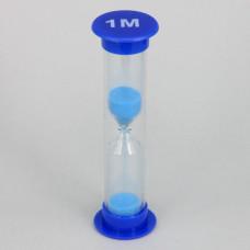 PS002-1M Песочные часы на 1 минуту, пластик, стекло