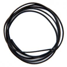 SH004B Шерстяной шнурок для амулета, цвет чёрный