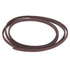 SHZ1093 Замшевый шнурок для амулета, цвет тёмно-коричневый