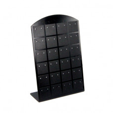 STN-E01 Дисплей для серег 87x35x135мм, чёрный полистирол