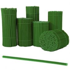 SVG-020 Свечи восковые Зелёные № 20, 305х9,6мм, время горения 3ч, 10 штук