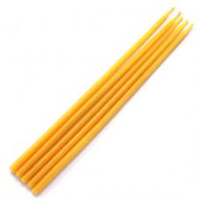 SVM2-Y Свеча магическая 18х0,6см, время горения более 35мин., 100% воск, цвет жёлтый