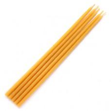 SVM3-Y Свеча магическая 22х0,7см, время горения более 60мин., 100% воск, цвет жёлтый